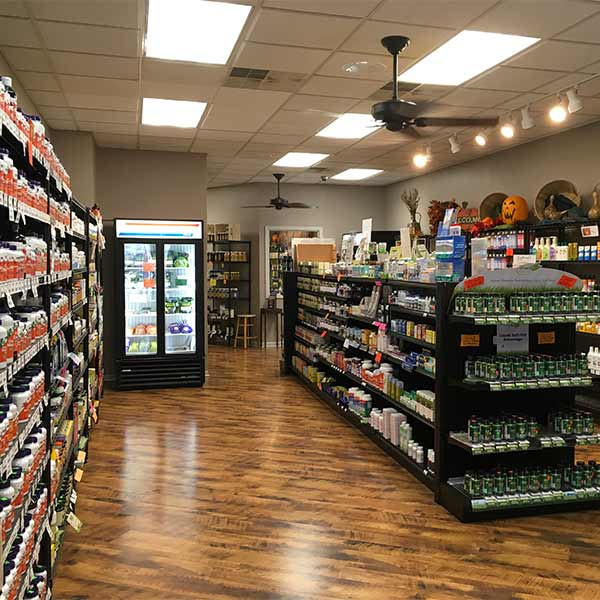 Inside of House of Nutrition